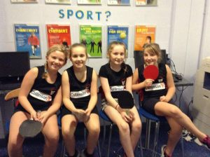 Table Tennis Girls